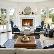 Winter Home Decoration Design With Unique Fireplace Ideas