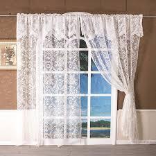 großhandel romantische weiße spitze vorhang fenster tulle blumen vorhänge für wohnzimmer küche behandlung voilevorhang hochzeitsdeko