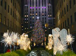 Rockefeller Christmas Tree Lighting 2014 by Nyc Nyc Rockefeller Center Christmas Tree