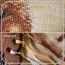 The Frosted Pumpkin Stitchery Facebook by Cross Stitch U2013 The Grey Tail
