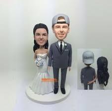 Same wedding cake topper Gay wedding bobblehead Gay wedding cake