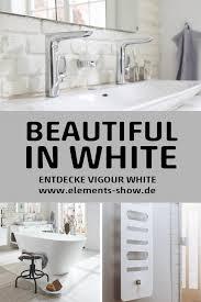 vigour white badmöbel und keramik design heizkörper