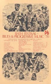 1970 Bath Blues Festival Poster