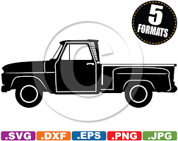 1965 Chevy C10 Stepside Pickup Clip Art Image - Svg & Dxf Cutting ... Clipart Of A Cartoon White Man Driving Green Pickup Truck And Red Panda Free Images Flatbed Outline Tow Clip Art Nrhcilpartnet Opportunities Chevy Chevelle Coloring Pages 1940 Ford Pick Up Watercolor Pink Art Flower Vintage By Djart 950 Clipart Vintage Red Pencil In Color Truck Unbelievable At Getdrawingscom For Personal Use