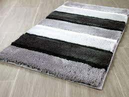 pacific badteppich bali grau streifen in 5 größen