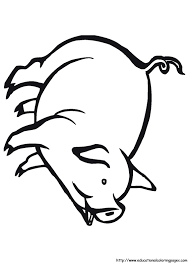Farm Animal Coloring Pages Free For Kids