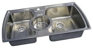 the kitchen sinks americast silhouette triple bowl kitchen sink