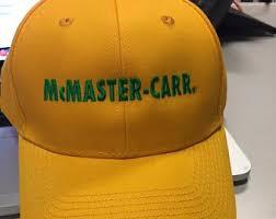 McMaster Carr Baseball Hat Cap