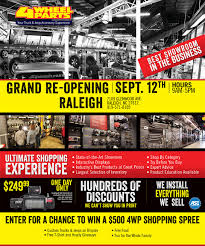 4 Wheel Parts Raleigh, NC Grand Reopening These Are The Most Popular Cars And Trucks In Every State 4 Wheel Parts Mcallen Grand Reopening Sale Hino Isuzu Truck Dealer 2 Dallas Fort Worth Locations Chromed Grille Lower For Fuso Canter 2010 More Items The First 5 Silverado You Should Buy Under 500 2014 731987 Chevy Ord Lift Install Part 1 Rear Youtube Mob Sled Chrome Shop Mafia Brigtees Flashback F10039s New Arrivals Of Whole Trucksparts Trucks Or Four State Trucks Accsories Amazoncom 1986 Peterbilt 359 Stock 08687 Sleepers Tpi