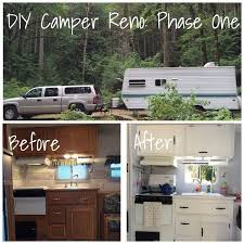 The French 75 Blog Shares Their Vintage Inspired Camper Reno Before After And
