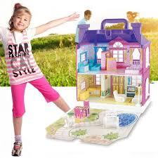musique éclairage de maison de poupée miniature maison de rêve