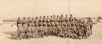 Sargents Of The British West Indies Regiment Pose For A Photo