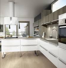 cuisine meubles blancs cuisine lapeyre meubles bois et blancs assortis