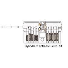 barillet securite porte entree cylindre de sécurité vachette vrx barillet 30 x 30 pour serrure de