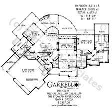 Harmonious Mountain Style House Plans by Etowah River Lodge House Plan House Plans By Garrell Associates