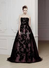 black and purple wedding dress naf dresses