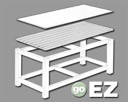 work bench plans grumpys performance garage