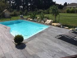 margelle piscine en bois lot de 40 margelles droites 60 x 33 cm 4 margelles angle de