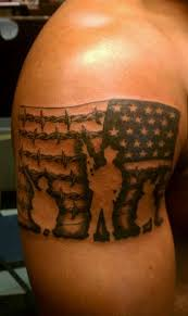 Best Flag Tattoos Design Soldier And American Tattoo For Men On Sleeve