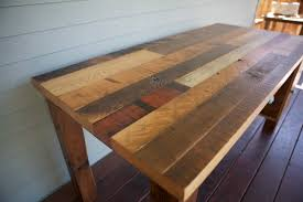 Diy Reclaimed Wood Table Top by Arbor Exchange Reclaimed Wood Furniture Patchwork Desk With