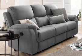 atlantic home collection 3 sitzer mit relaxfunktion und