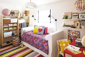 Vogue Room Coloring Ideas Pretty Mixed Patterns Teen