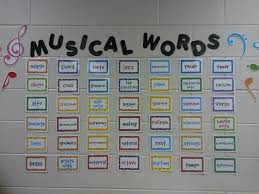 Welcome To The Music Room Classroom Tour Love This Word Wall