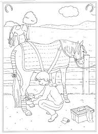 Printable Coloring Pages Horse 12