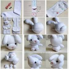 How To Make Sew Sock Bunny Step By DIY Tutorial Instructions