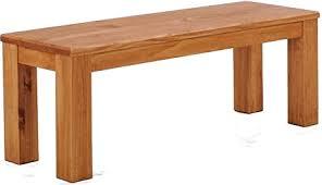 brasil möbel brasilmöbel bank 110 cm classico honig pinie massivholz esszimmerbank küchenbank holzbank echtholz sitzbank größe und farbe wählbar