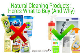 natural cleaning products here s what to buy and why