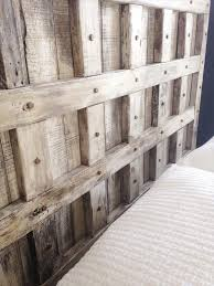 Creative Of Fabulous Rustic Queen Headboard Diy Pallet Wood Furniture