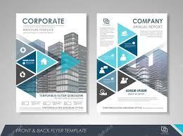 Presentation flyer design template — Stock Vector © stekloduv