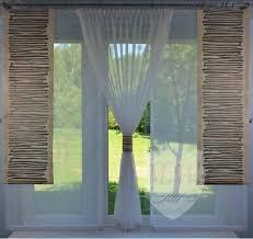 moderne gardinen komplett dekoration wohnzimmer braun