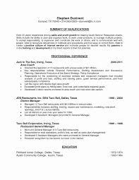 Resume Objective Sample For Teachers Unique