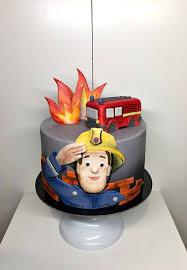 fireman sam cake feuerwehrmann sam kuchen feuerwehrmann