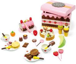 kleinkindspielzeug zuckersüsse süßigkeiten kiste 39tlg torte