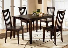 Hyland Rectangular Dining Table W 4 Chairs