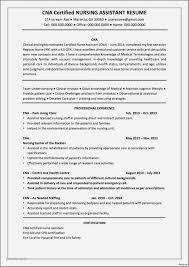 Sample Resume For Restorative Nursing Assistant Elegant Certified Templates Best Emergency Jpg 1201x1701