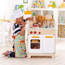hape gourmet kitchen toddler kids wooden play pretend cooking