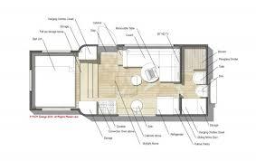 Modern Tiny House Floor Plans Custom Truck Rv Home