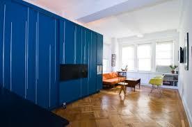450 Sq Ft Manhattan Apartment With A Hidden Bed