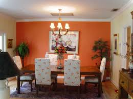 Orange Dining Room Color Ideas