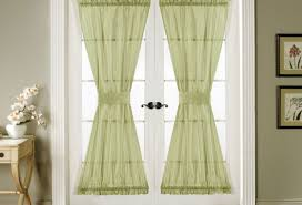 Front Door Side Window Curtain Rods by Curtains Door Curtain Amazing Side Door Curtains Soft Folded
