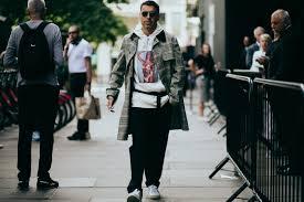London Fashion Week Mens 2017 Street Style