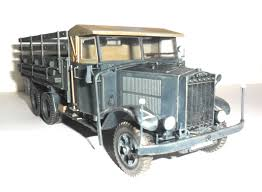 100 German Trucks Krupp L3H163 WWII Army Truck ICM Holding Plastic Model Kits