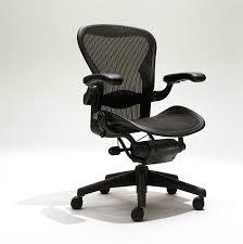 herman miller aeron mesh office desk chair medium size b fully