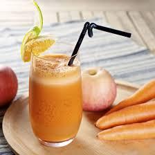 recette jus détox carottes pommes