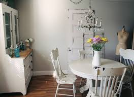 chandelier lowes dining room shabby chic with baseboards ceiling
