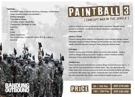 outbound offroad cikole lembang bandung paket paintball 3